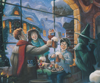 The Three Broomsticks