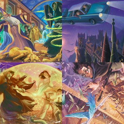 Explore Mary GrandPré's stunning Harry Potter artwork