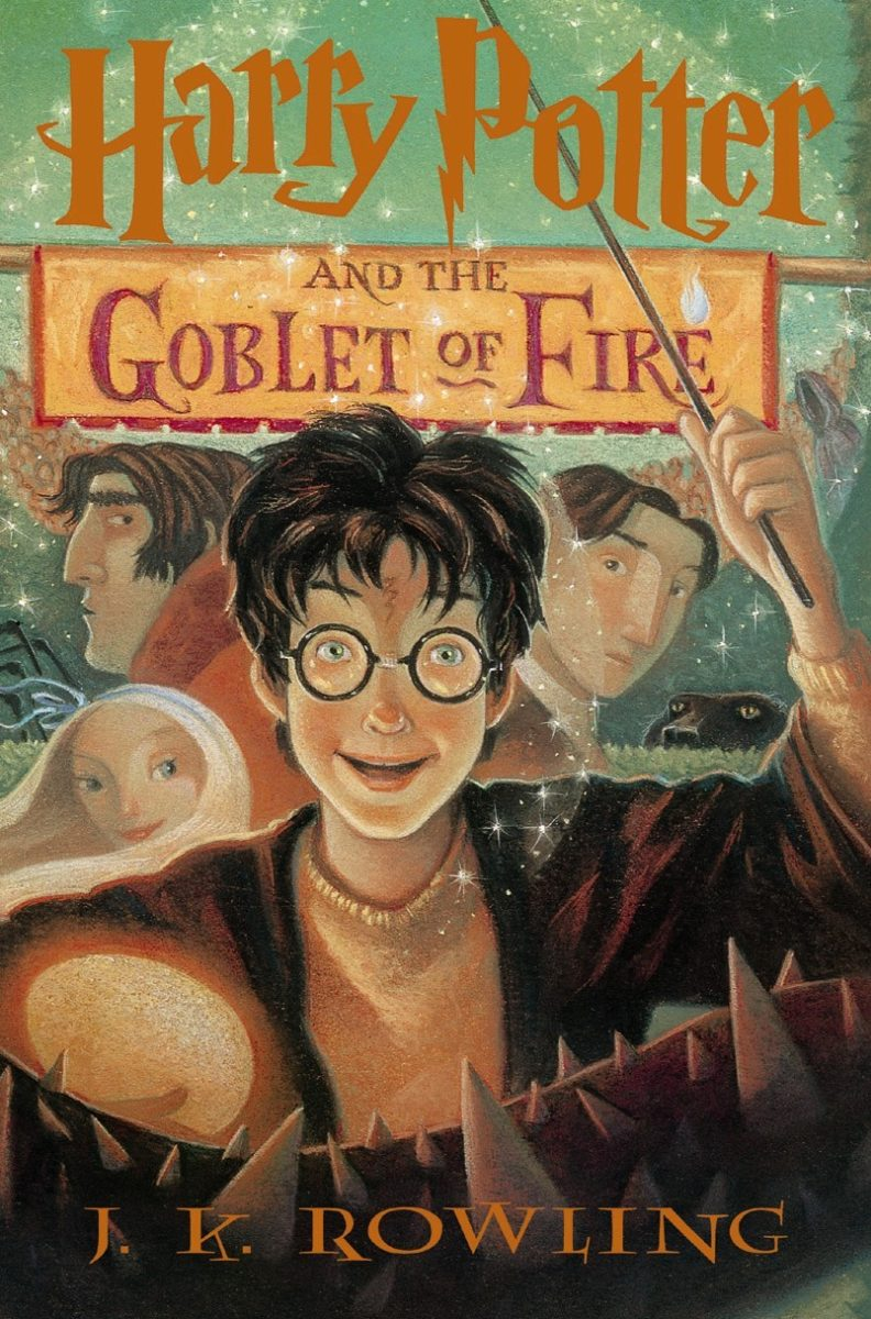 Book Cover Art Zone ~ Goblet of fire us children s edition — harry potter fan zone
