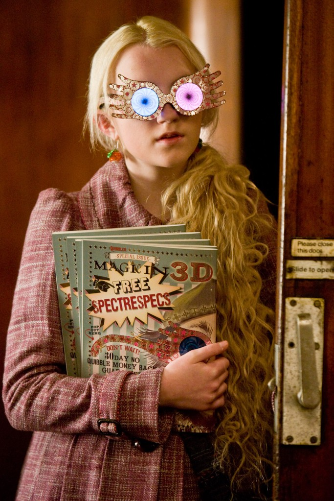 Evanna Lynch (Luna Lovegood)