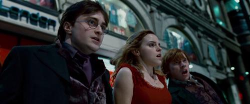 The trio in London