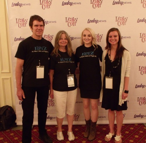Davi and Toni Gras with Evanna Lynch