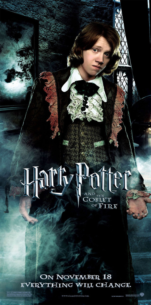 Harry Potter and the Goblet of Fire Ron poster