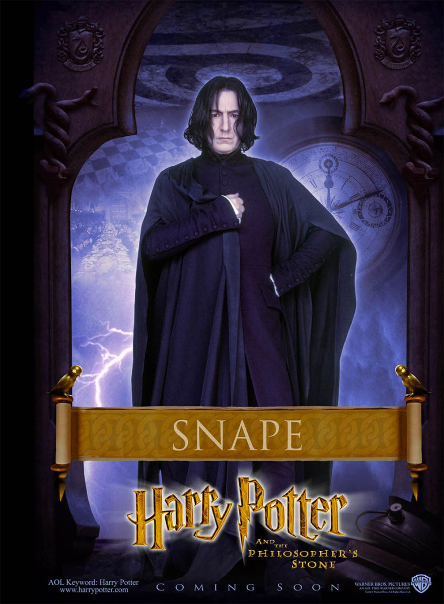 Contact Us Images Free >> Harry Potter and the Philosopher's Stone Snape poster