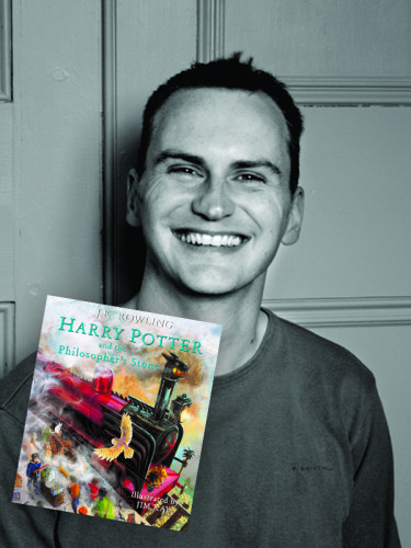 Jim Kay is the artist behind the Harry Potter illustrated editions