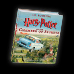 Chamber of Secrets illustrated edition jacket