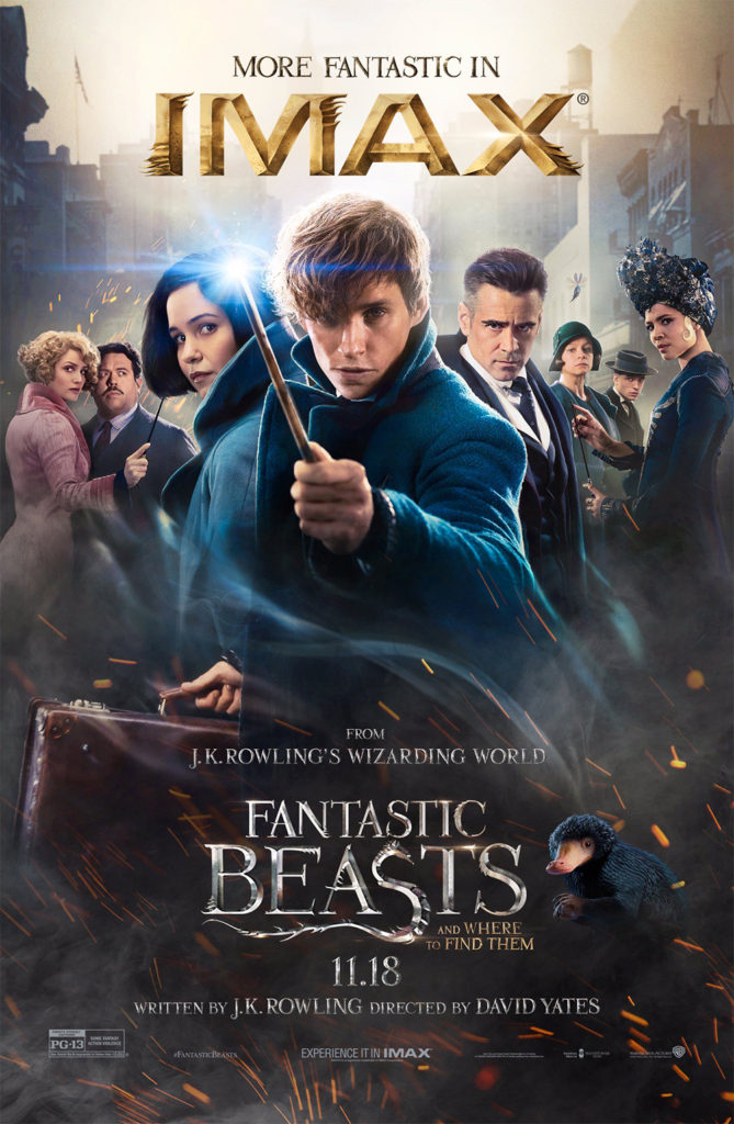 'Fantastic Beasts and Where to Find Them' IMAX poster