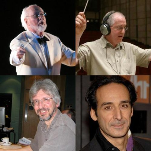Four composers wrote music for the 'Harry Potter' films