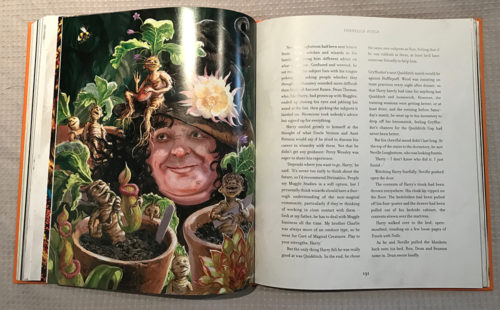 Professor Sprout and the Mandrakes