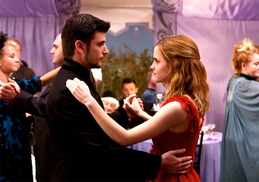 "The Viktor Krum actor reveals a ""love triangle plot"" between he, Hermione and Ron was cut from the 'Deathly Hallows' films"