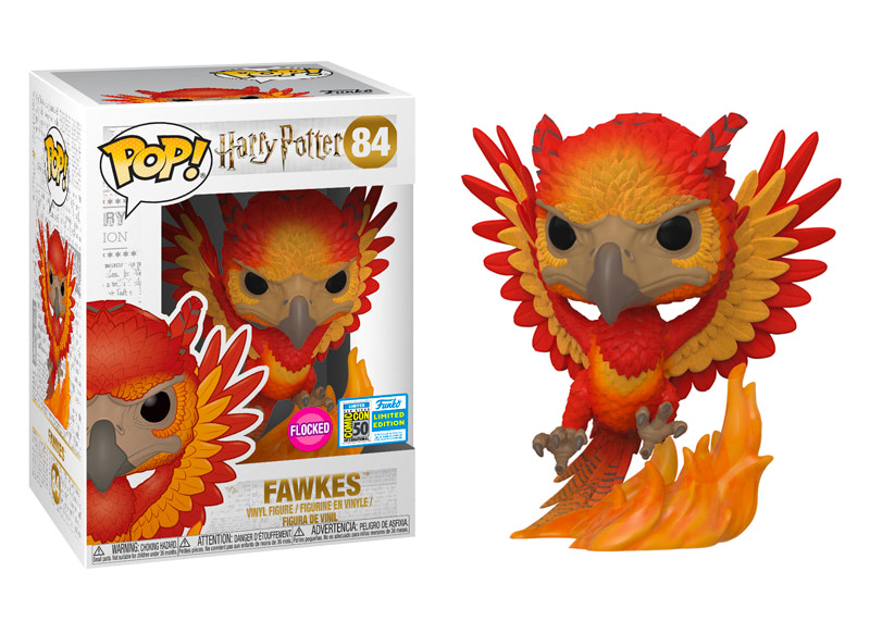 84 Fawkes Flocked 2019 Sdcc Hot Topic Exclusive