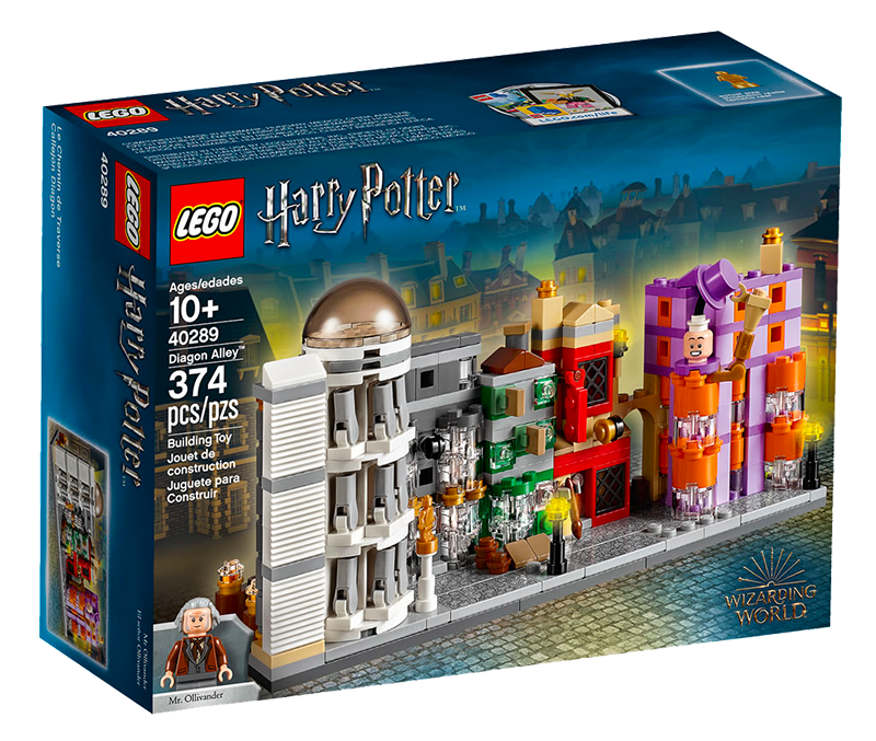 Lego To Release New Harry Potter Themed Diagon Alley Set