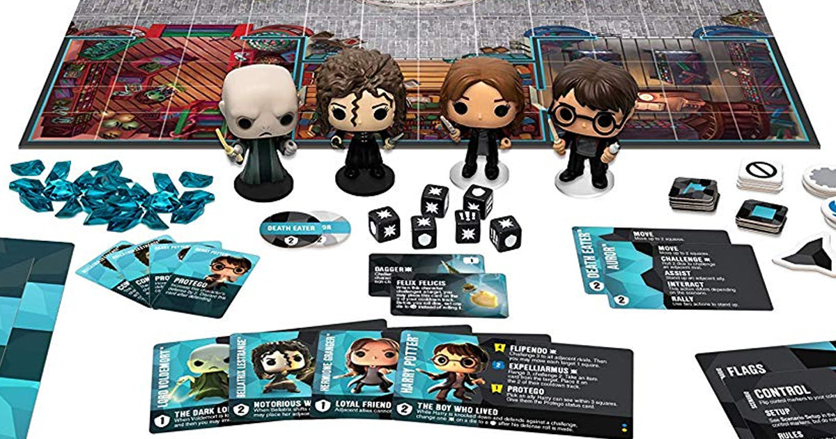 Funko To Release Two Harry Potter Tabletop Strategy