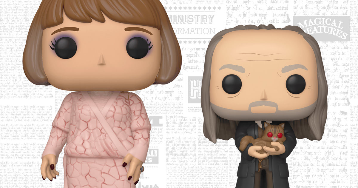 Funko To Release Madame Maxime And Argus Filch Pop Vinyl